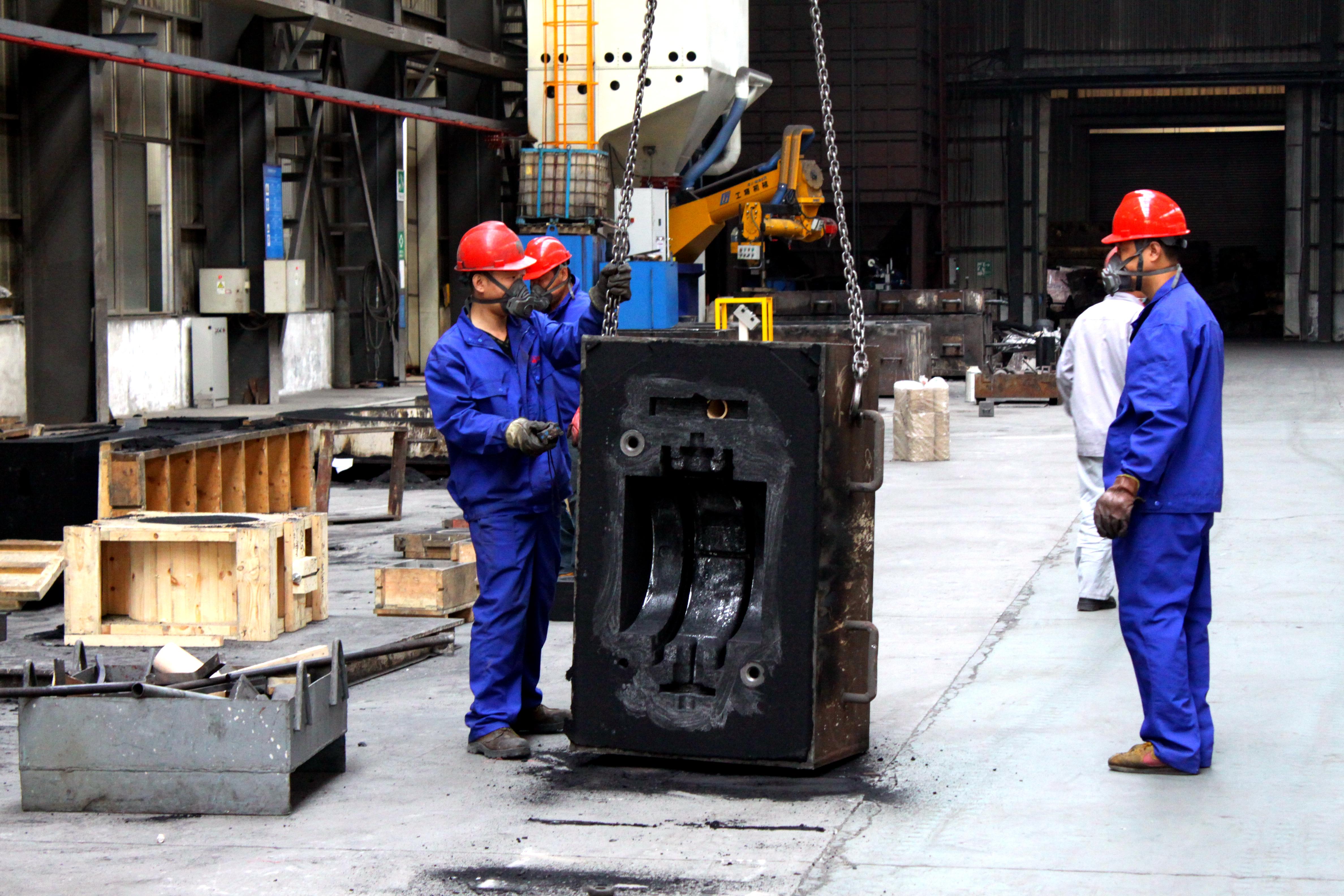 铸件生产过程中孔洞类缺陷