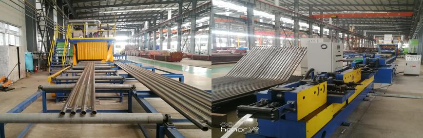 膜式壁气保焊接生产线